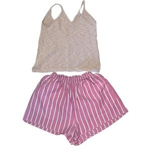 Women's Shorts and Cami Tank Top